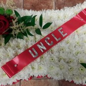 Uncle Funeral Cushion